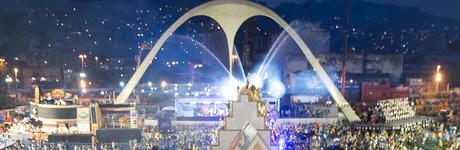 Camarote VIP no Carnaval do Rio!